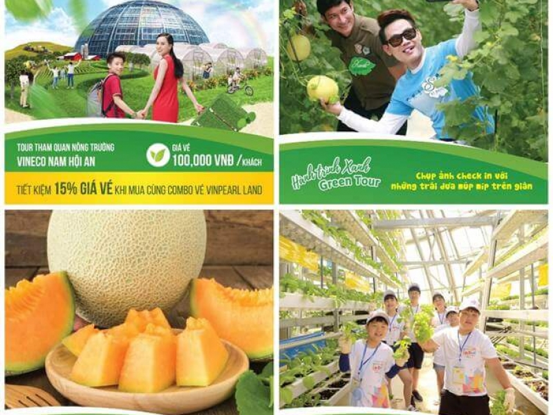 Combo-Green-Tour - Vinpearl-Land-Nam-Hội-An-Vineco